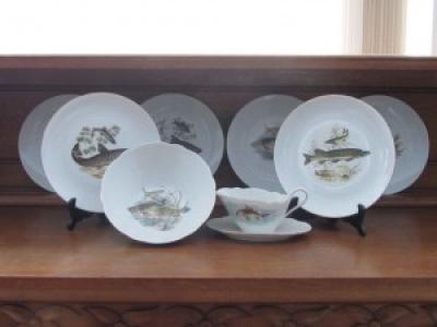 комплект чинии, купа и сосиера