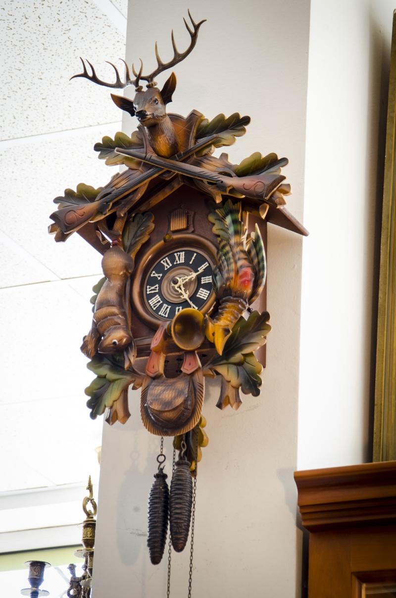 Стенен часовник Шварцвалд малък